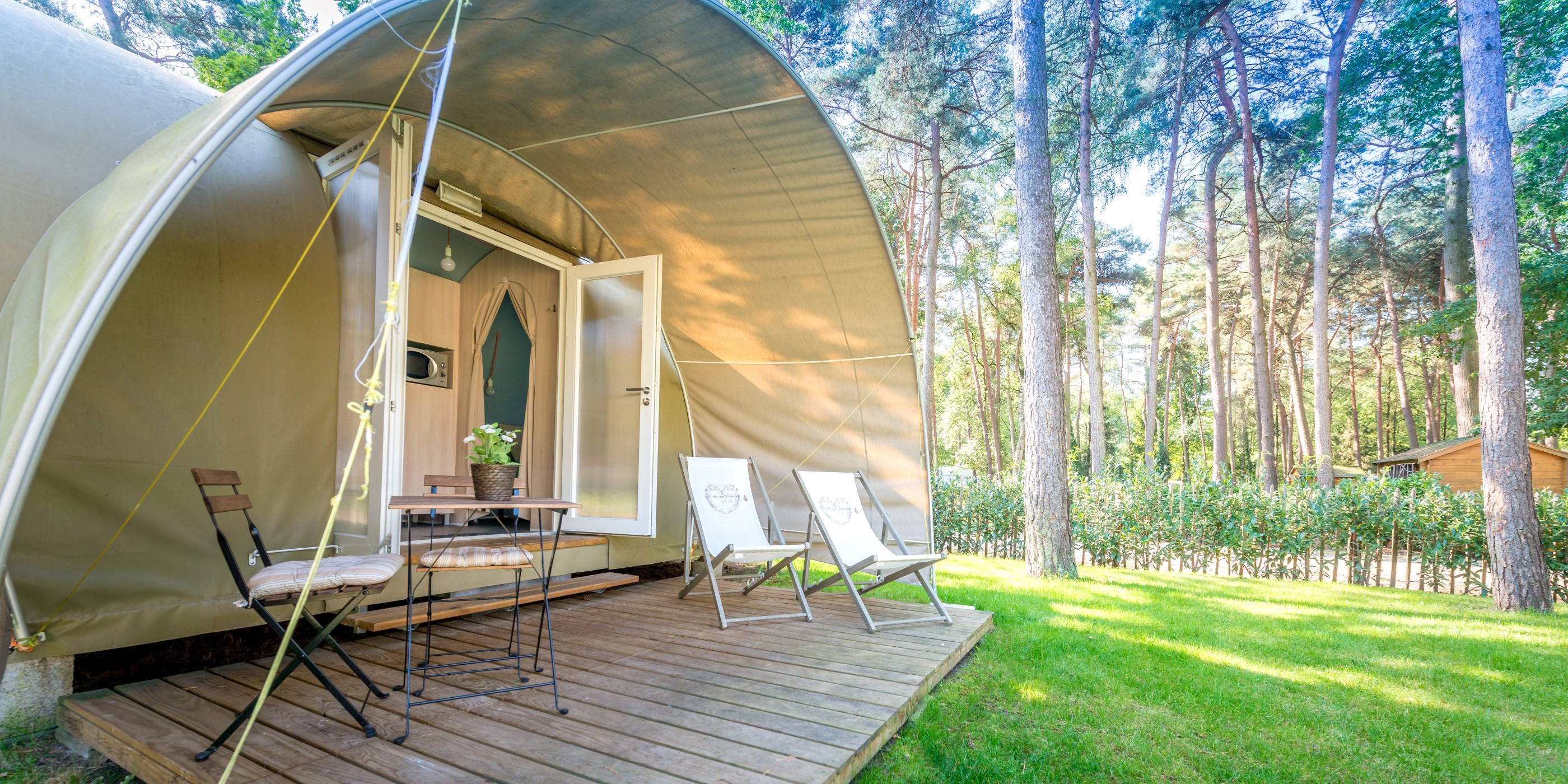 4-persoons Coco tent op camping in Limburg